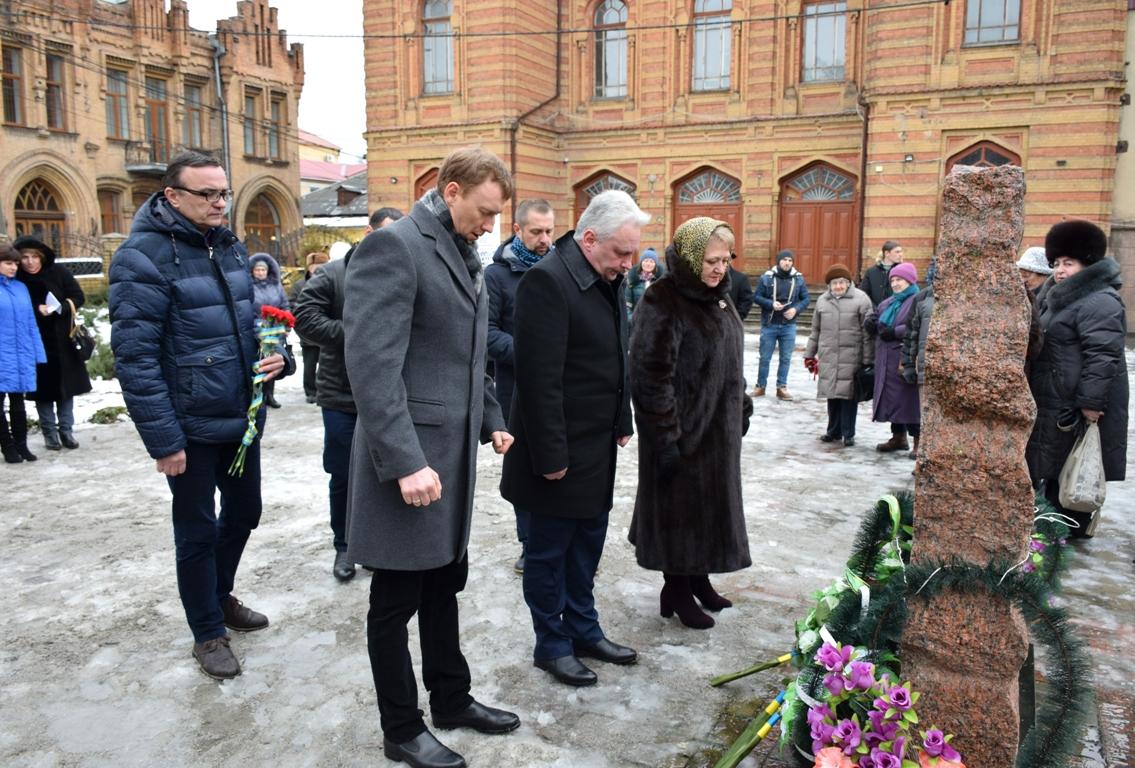 У Кропивницькому вшанували жертв Голокосту. ФОТО - 5 - Життя - Без Купюр