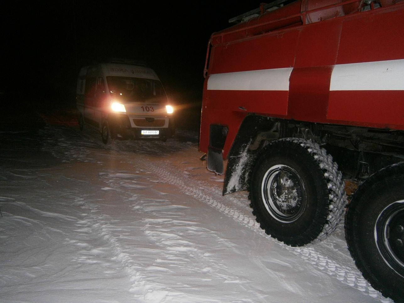 Рятувальники Кіровоградщини допомогли вибратись зі складних ділянок дороги майже 800 водіям. ФОТО 6