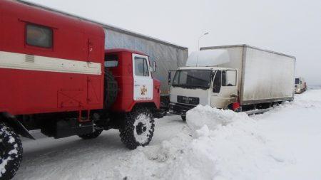 Оперативна інформація про ситуацію на дорогах Кіровоградщини. ФОТО