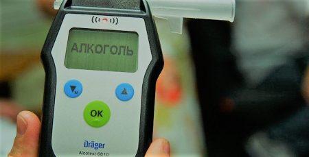 Протягом новорічних свят патрульним у Кропивницькому трапилося лише 5 водіїв напідпитку