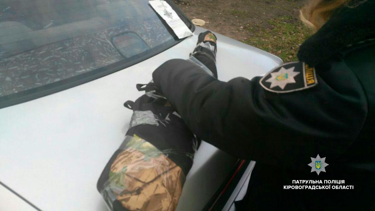 Без Купюр У Кропивницькому чоловік погрожував дружині рушницею. ФОТО Події  поліція Патрульна поліція Кропивницький