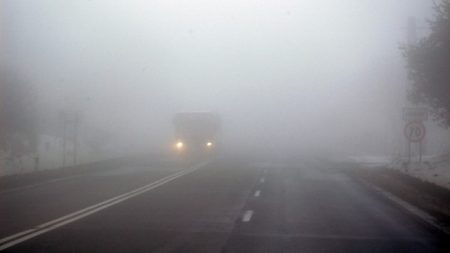 На дорогах Кіровоградщини очікується погана видимість