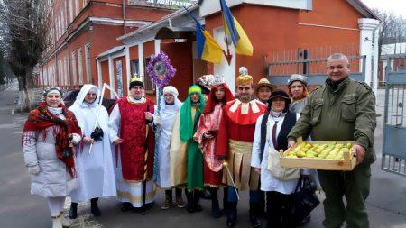 Кропивницьких спецпризначенців відвідав різдвяний вертеп. ФОТО, ВІДЕО