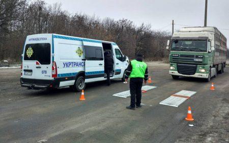 Завдяки новим ваговим комплексам на Кіровоградщині за день виявили порушень вагових обмежень на майже 5 тисяч євро
