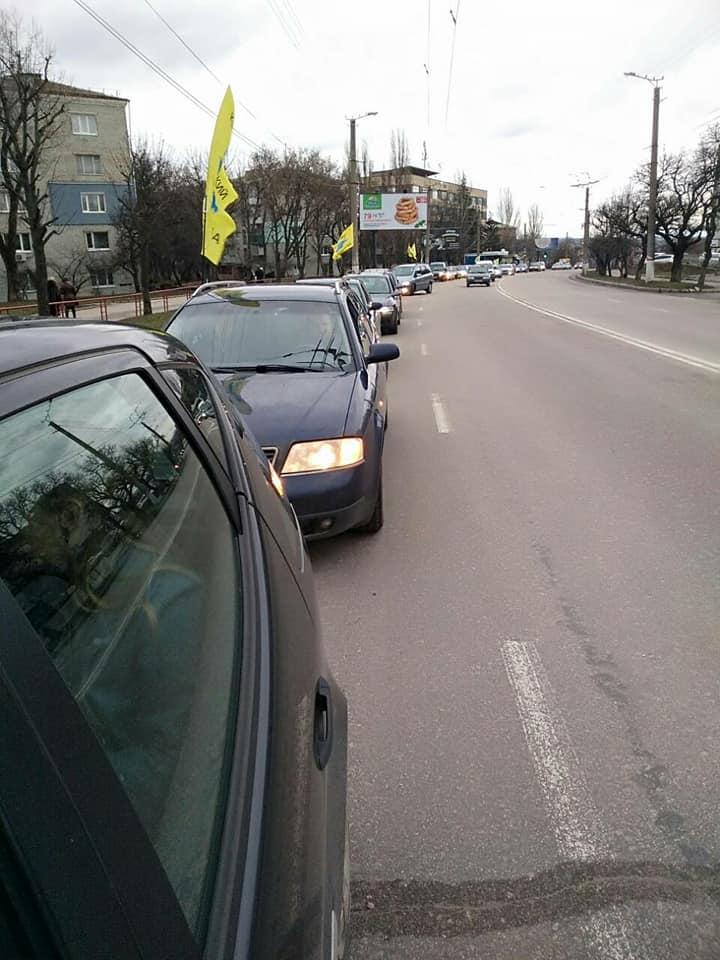 У Кропивницькому влаштували автопробіг за доступні «євробляхи». ФОТО, ВІДЕО - 3 - За кермом - Без Купюр