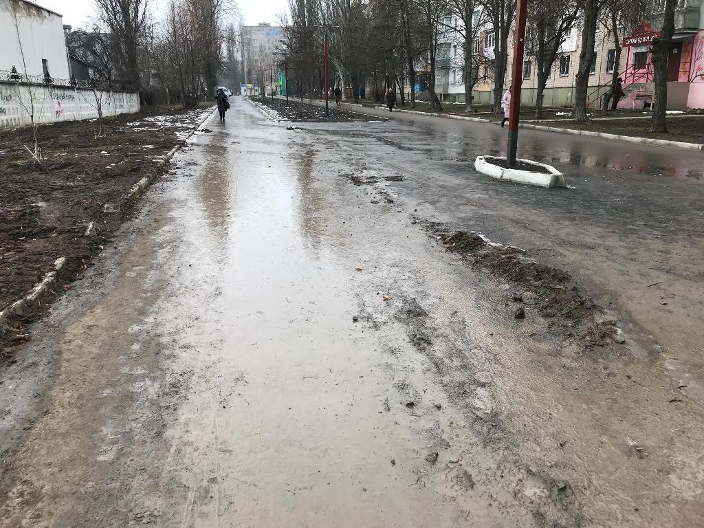 У Кропивницькому понівечили тротуар між вулицями Волкова і Пацаєва, що відремонтували за півтора мільйона. ФОТО - 7 - Фото - Без Купюр