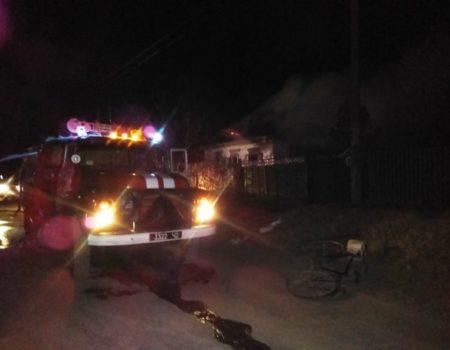 На Кіровоградщині пожежа забрала життя літньої жінки, ще одна отруїлася чадним газом. ФОТО