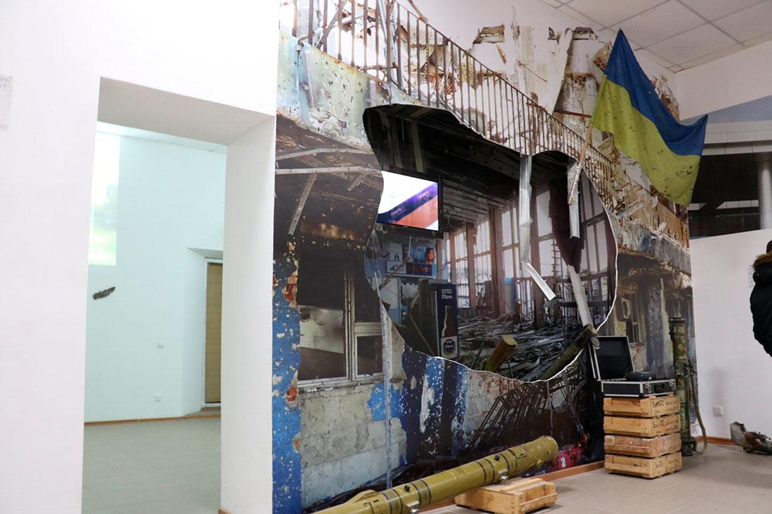 В музеї кіборгів увічнили відмову спецпризначенців Януковичу у розгоні Євромайдану. ФОТО, ВІДЕО