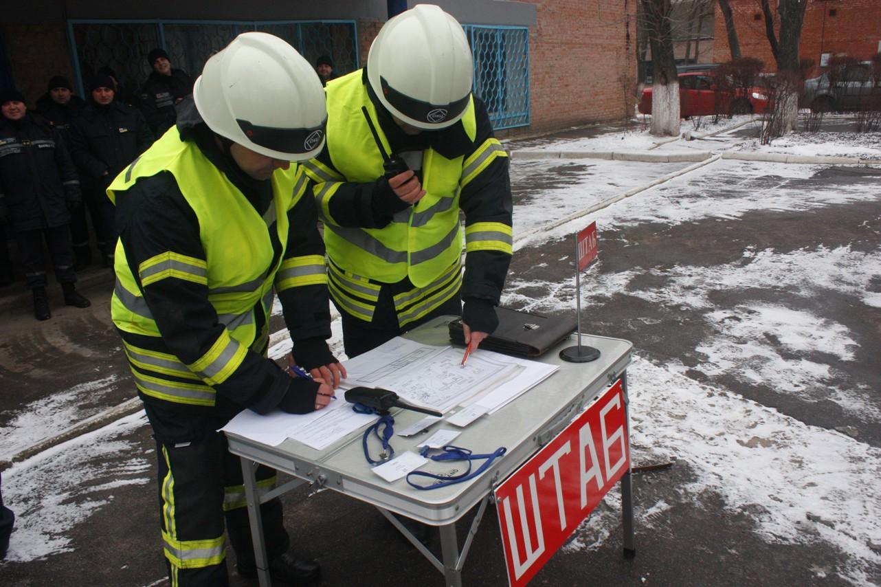 У обласній лікарні провели масштабні тренування з ліквідації наслідків пожежі. ФОТО 9