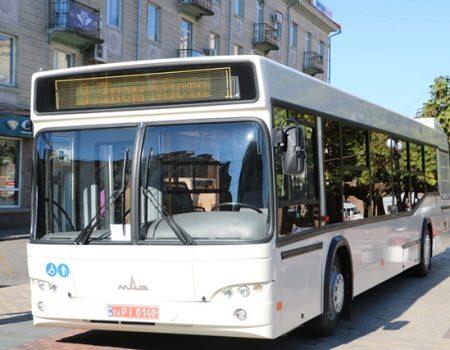 Нові автобуси наступного тижня виїдуть на маршрути: графік руху, вартість квитка, схема проїзду