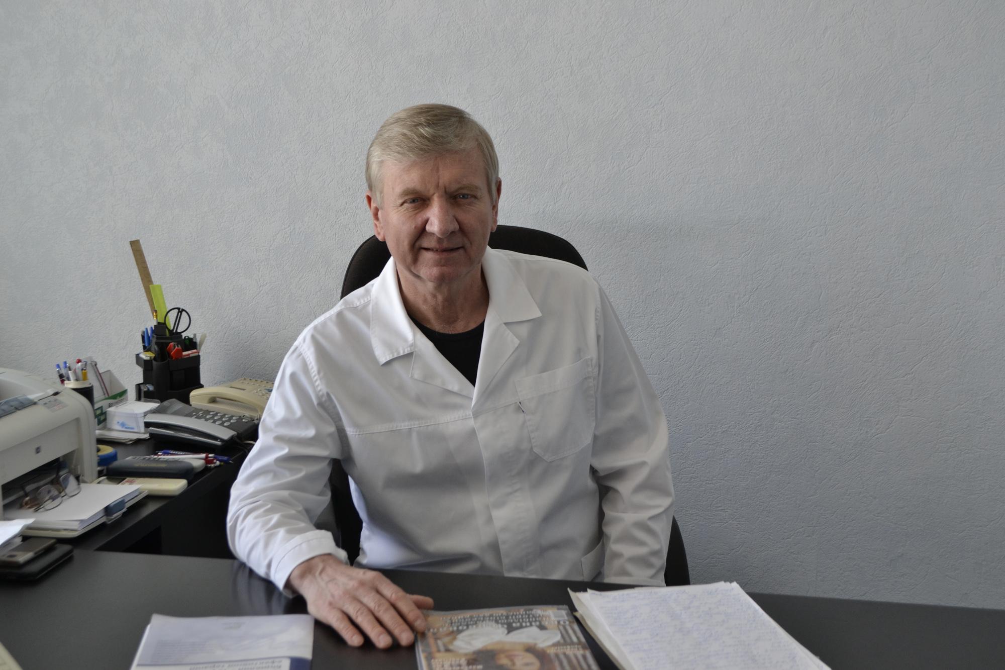 Олексій ЧАЛИЙ, завідуючий проктологічним відділенням, обласного онкологічного диспансеру, Заслужений лікар України
