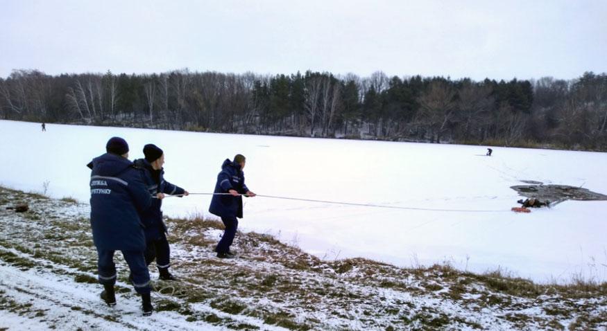 На Кіровоградщині врятували рибалку, який провалився під кригу. ФОТО - 1 - Життя - Без Купюр