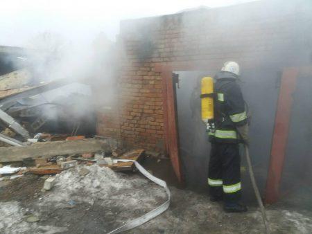 В Олександрії через вибух у гаражі постраждала людина. ФОТО