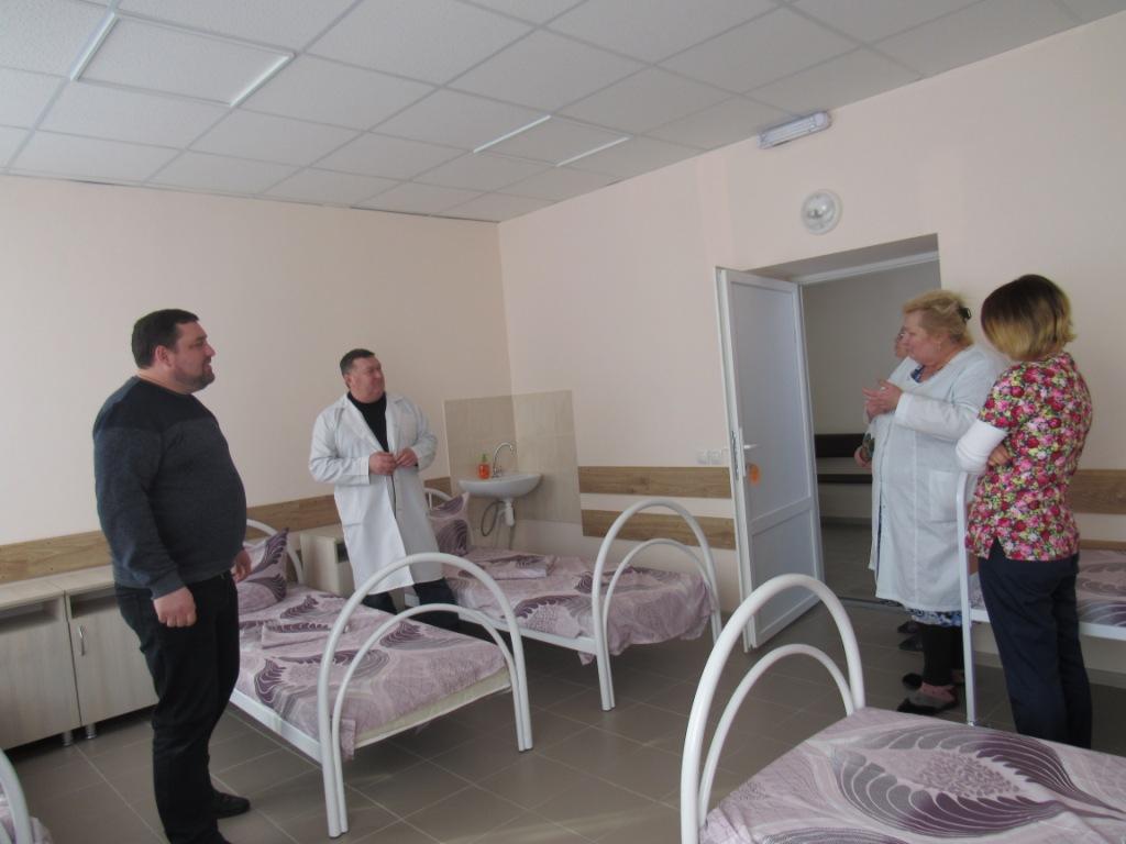 У Новомиргородській лікарні капітально відремонтували терапевтичне відділення. ФОТО - 1 - Здоров'я - Без Купюр