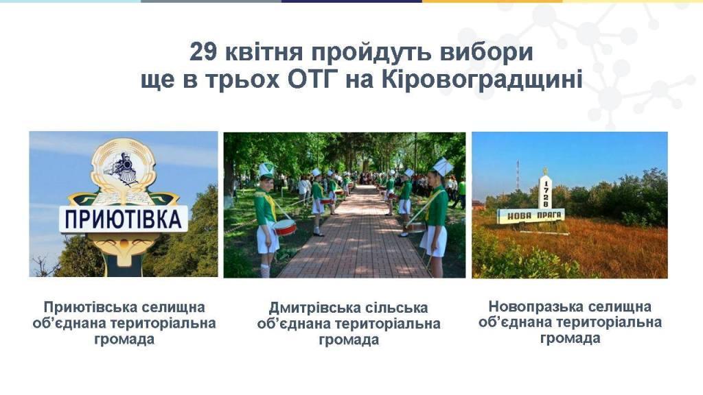 Що отримають громади на Кіровоградщині після виборів в ОТГ 1