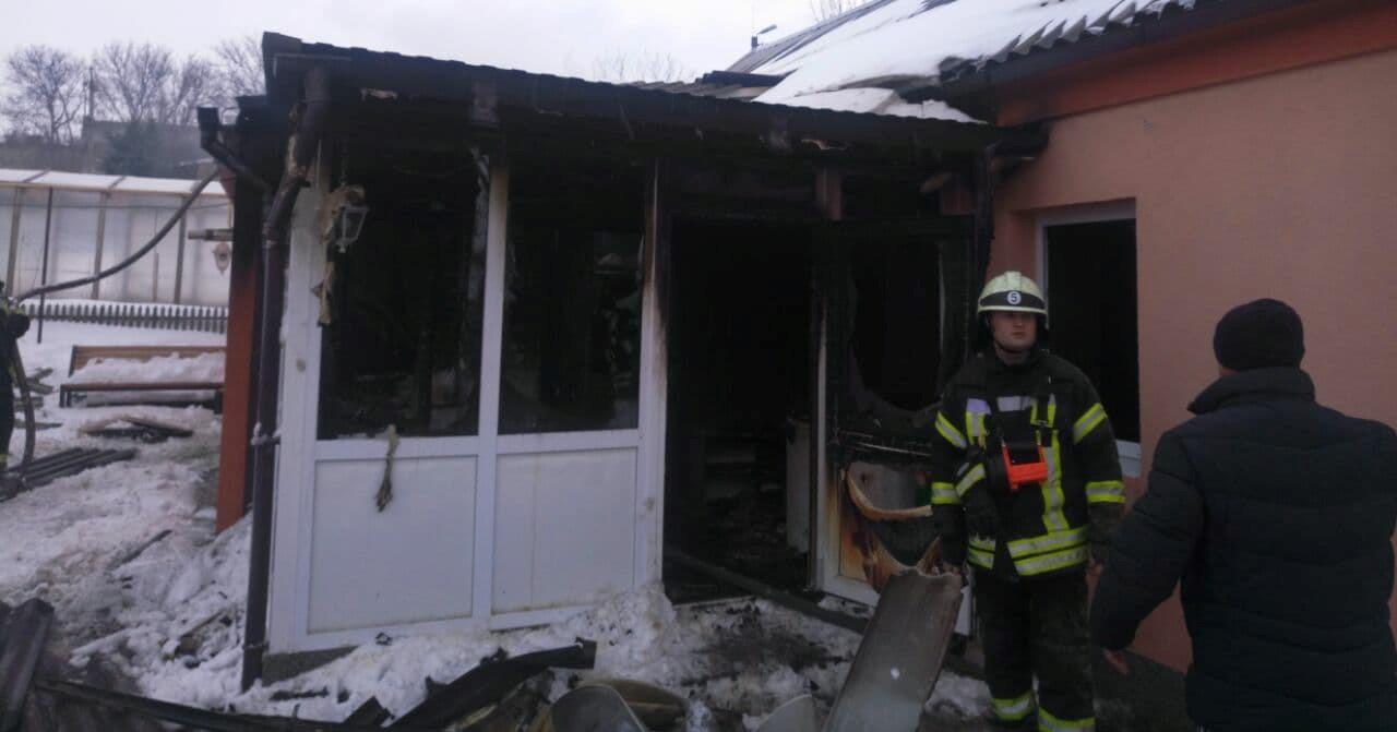 Без Купюр У Кропивницькому на пожежі знайшли труп чоловіка. ФОТО Події  пожежа Кропивницький