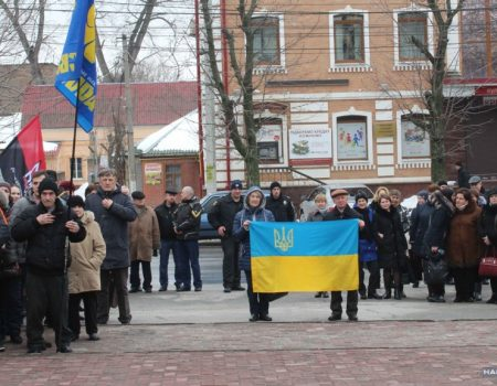 У Кропивницькому відзначили 204-ту річницю від дня народження Шевченка. ФОТО
