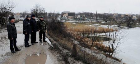 У Кропивницькому обласні служби перевірили рівень води в Інгулі та Сугоклеї на ймовірність паводку. ФОТО