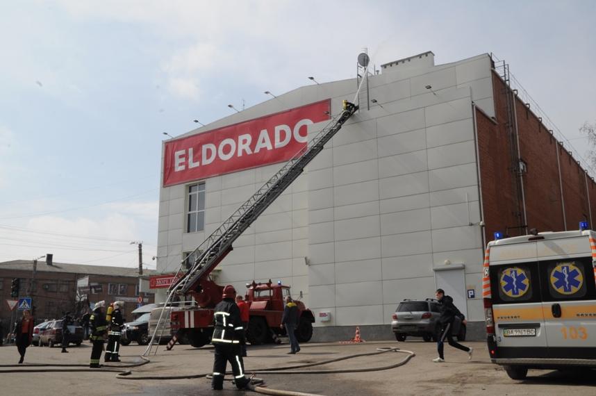 """Перша ластівка сьогодні кропивницький торгівельний центр """"Plazma"""" перевірили на дотримання вимог пожежної безпеки. ФОТО"""