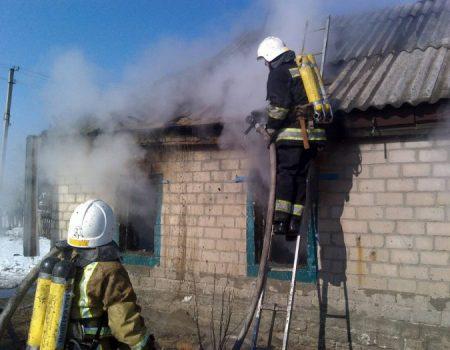 У Новгородківському районі на пожежі загинуло троє дітей. ФОТО