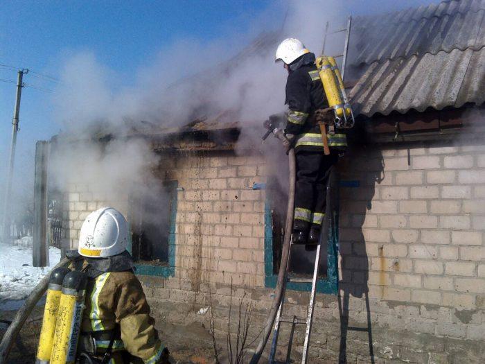 У Новгородківському районі на Кіровоградщині загинуло на пожежі троє дітей. ФОТО