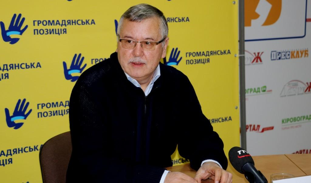 Знищити олігархат, підприємців носити на руках – Гриценко у Кропивницькому про те, як відновити економіку