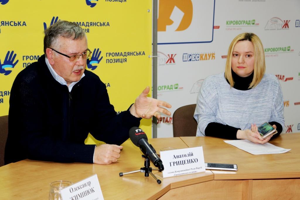 Знищити олігархат, підприємців носити на руках – Гриценко у Кропивницькому про те, як відновити економіку.