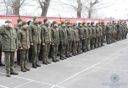 Кропивницький батальйон Нацгвардіїпривітали з 4-ою річницеюз дня створення. ФОТО