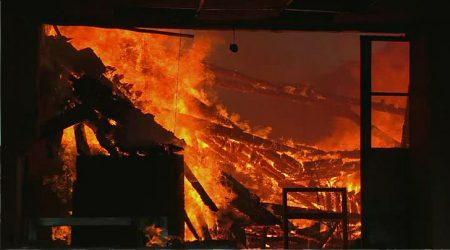 В Олександрії на пожежі загинула жінка
