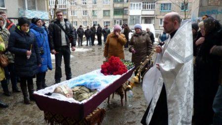 В Олександрії поховали військового, який підірвався на міні. ФОТО