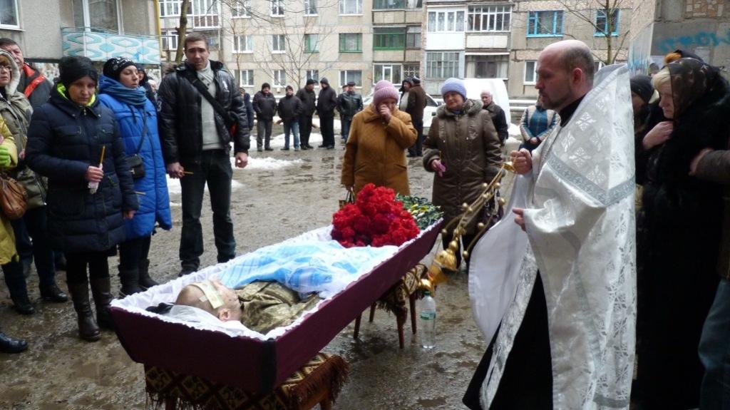 Без Купюр В Олександрії поховали військового, який підірвався на міні. ФОТО Війна  поховання Олександрія