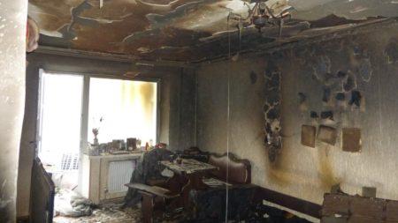 У Кропивницькому на пожежі загинула жінка, небайдужих просять допомогти родині