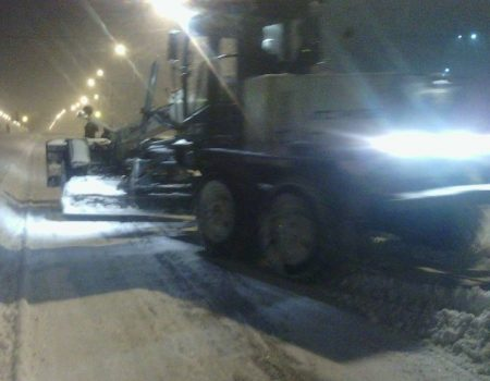 Перебіг ліквідації наслідків снігопаду у Кропивницькому. ФОТО
