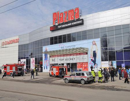 """Перша ластівка: сьогодні кропивницький торговельний центр """"Plazma"""" перевірили на дотримання вимог пожежної безпеки. ФОТО"""