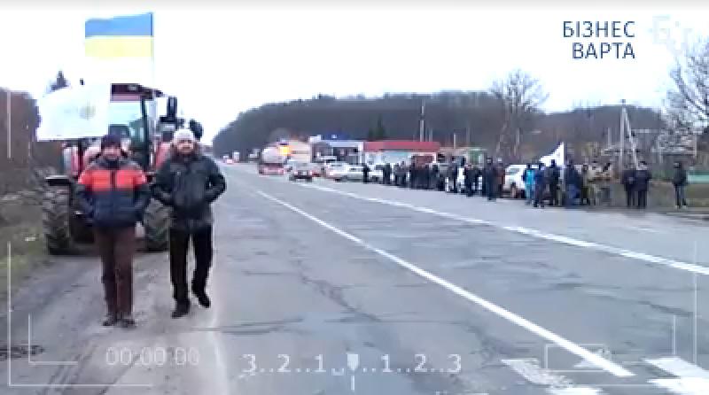 Які дороги на Кіровоградщині завтра перекриють аграрії. ВІДЕО
