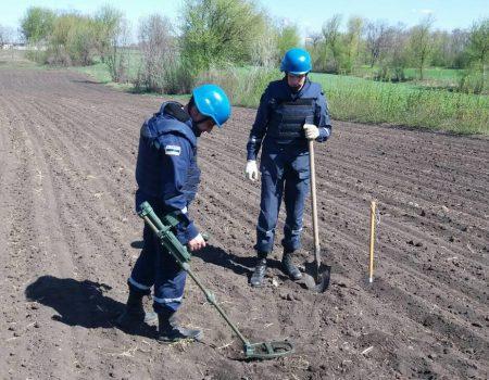 На Кіровоградщині ліквідували 5 боєприпасів часів Другої світової війни. ФОТО