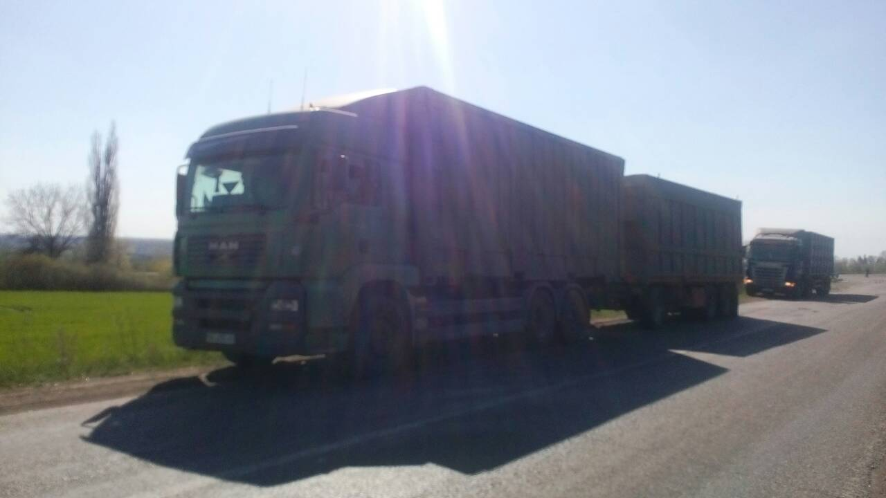 Без Купюр За недотримання вагового режиму власник вантажівки сплатить 438 євро Події  трансінспекція Кропивницький