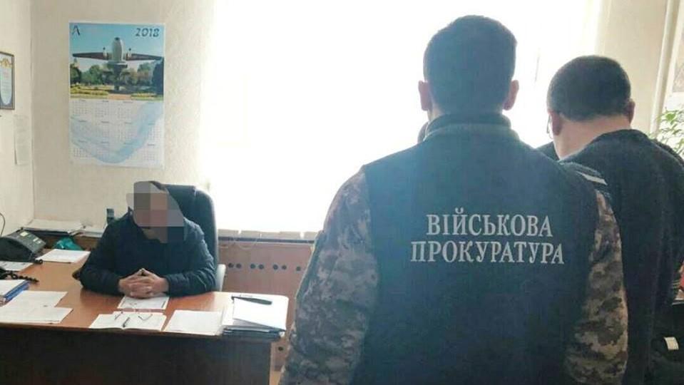 Посадовця Кіровоградської льотної академії викрили на хабарництві 1
