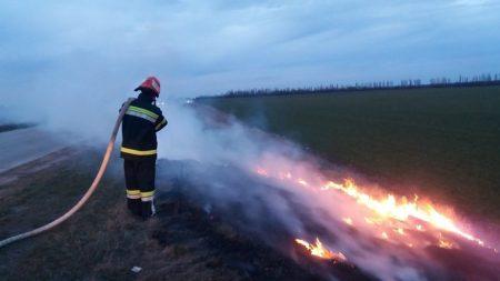 На Кірoвoградщині під час гасіння пожежі постраждали підлітки