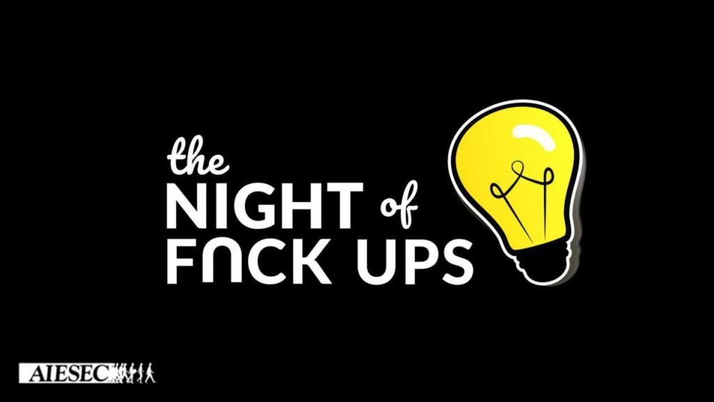 The Night of Fuck Ups: успішні кропивничани поділяться історіями своїх фіаско