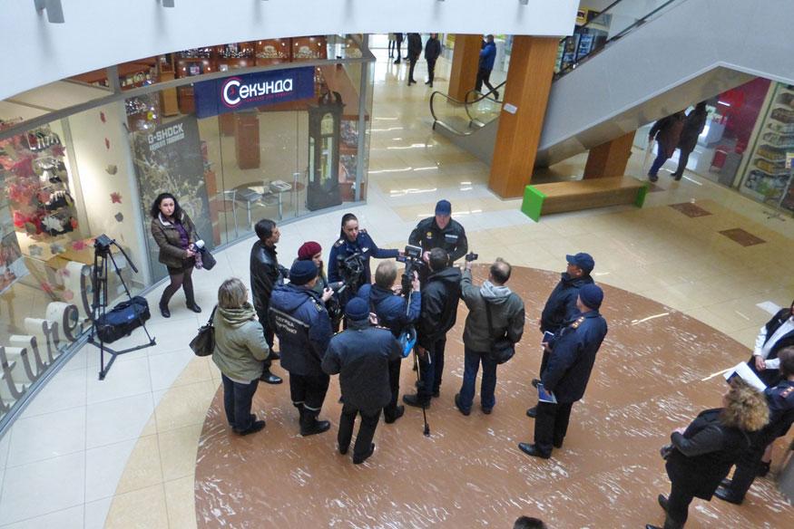 Без Купюр «Depo't center» перевірили на предмет пожежної безпеки (ФОТО) Життя  пожежна безпека перевірка Кропивницький