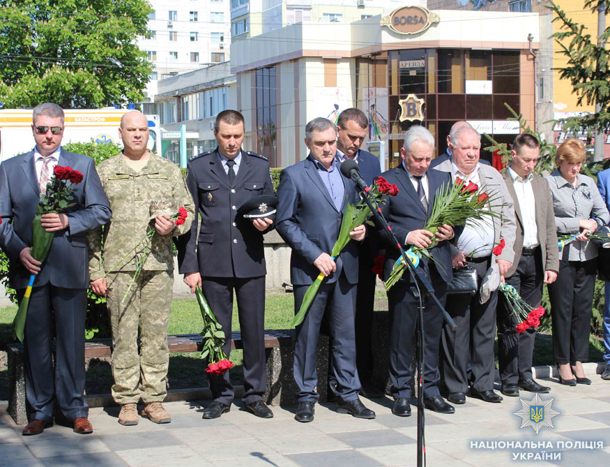 У Кропивницькому вшанували учасників ліквідації наслідків аварії на ЧАЕС