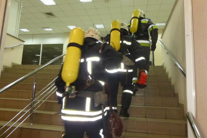 "Без Купюр Рятувальники перевірили стан пожежної безпеки торговельного центру ""Фуршет"" Життя  пожежна безпека перевірка Кропивницький"