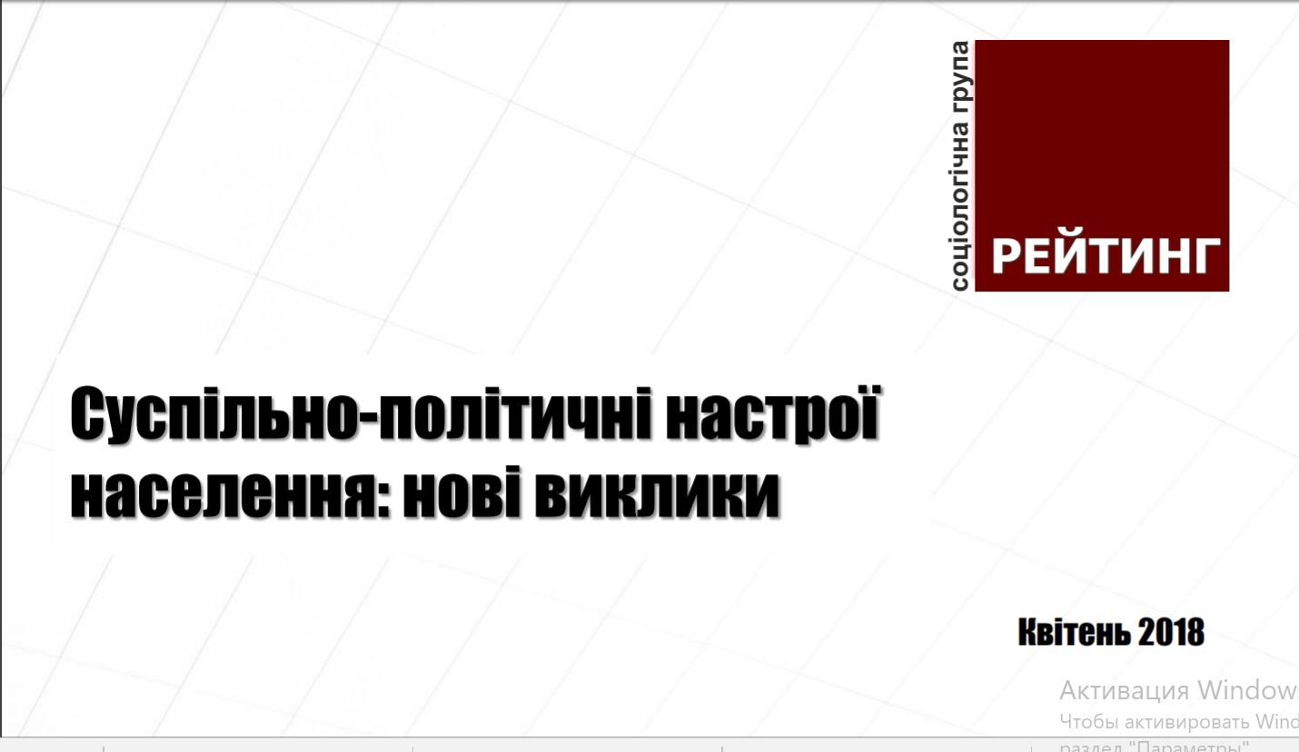 Чого українці чекають від нового Президента та кому довіряють із політиків - результати соцопитування - 1 - Політика - Без Купюр