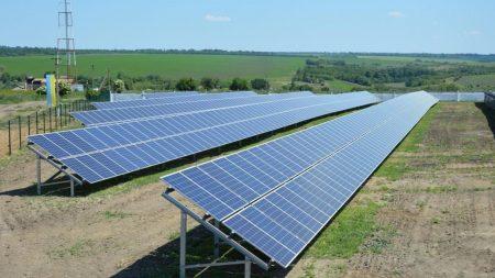 У Новоукраїнському районі відкрили сонячну електростанцію. ФОТО
