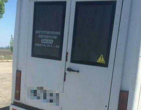 Патрульні доставили на штрафмайданчик маршрутки, які були під арештом, але перевозили пасажирів. ФОТО