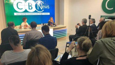 Супрун у Кропивницькому: Дані про пацієнтів замість лікарів можуть вносити адміністратори