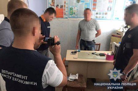 У Кропивницькому за підозрою в хабарництві затримали керівника лабораторії Держспоживслужби. ФОТО
