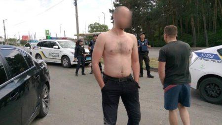 У Кропивницькому нетверезий молодик на BMW спричинив ДТП. ФОТО
