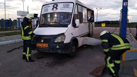 У Кропивницькому від вибуху газового балона постраждало двоє працівників заправки